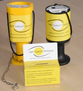 Image showing sight support Collection boxes