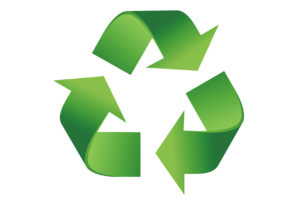 Image showing Recycle logo