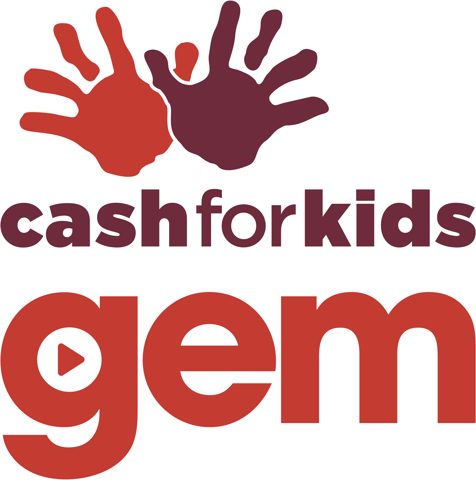 Gem Cash for Kids logo