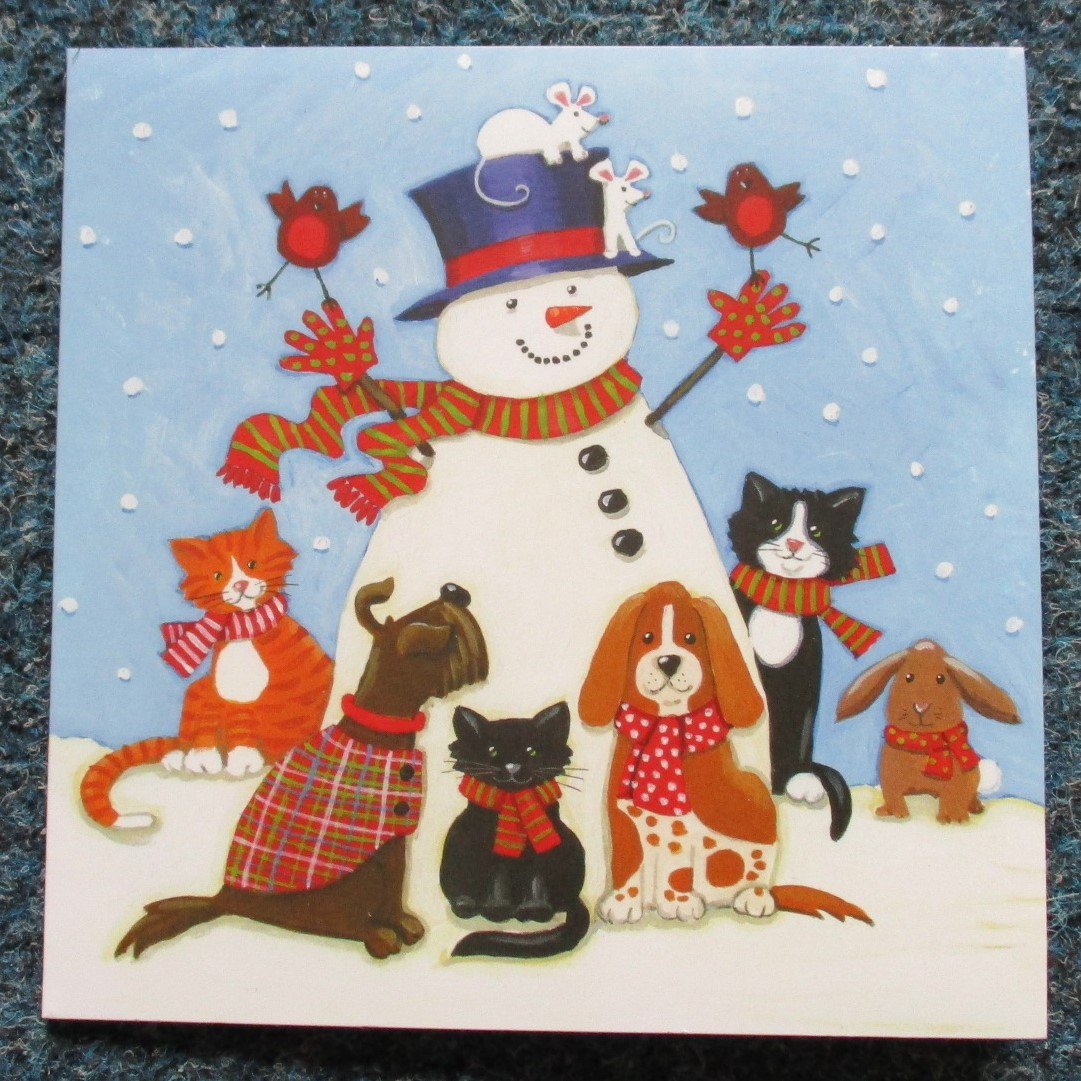 Snowman and Friends £3